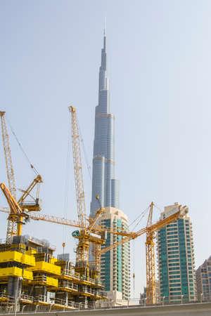 heart work: construction work in the heart of Dubai