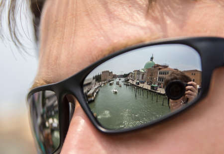 first sight: the very first sight of Venice from the bridge Scalzi