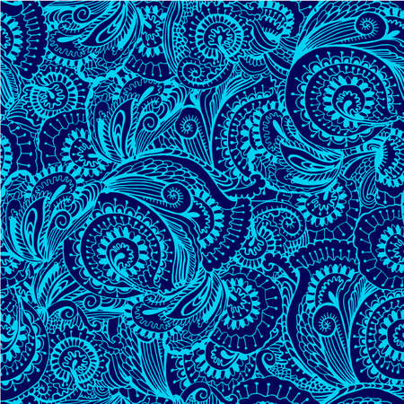 oriental style: seamless pattern in oriental style  vector illustration