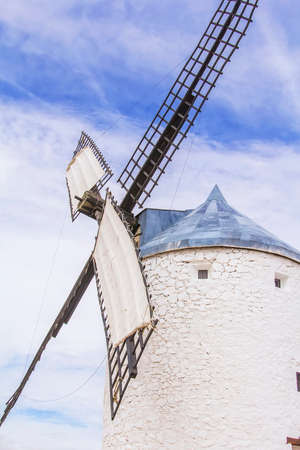 dont drink and drive: background landscape view of Don Quixote windmill in Consuegra, Toledo