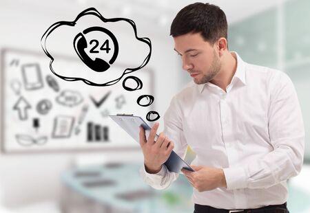 Business, Technologie, Internet und Netzwerkkonzept. Standard-Bild