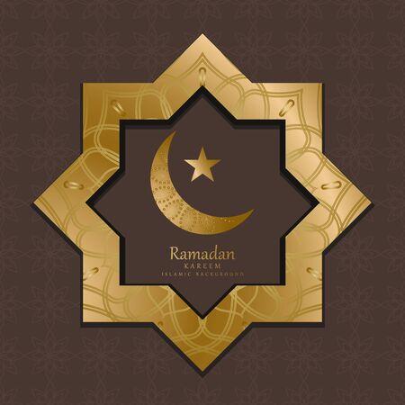 premium gold mandala vector. Luxurious Islamic decoration ornate. mandala in golden color