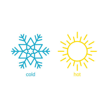 Hot and cold symbol