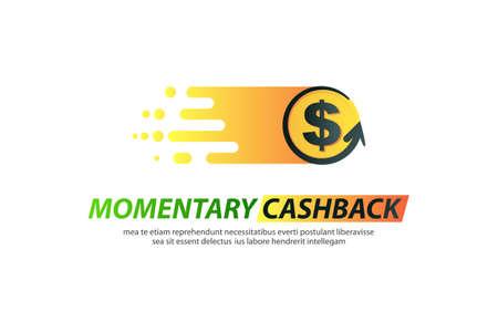 Template logo for momentary cashback