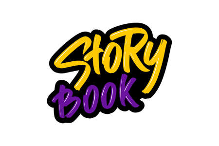 Story book lettering .
