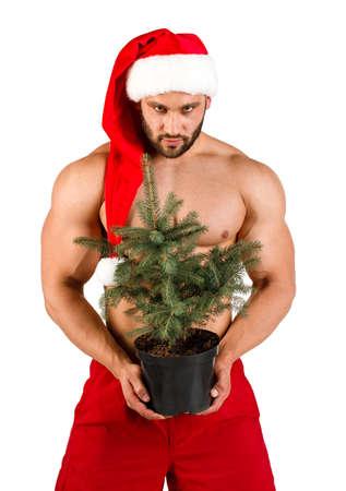 Naked Santa Claus