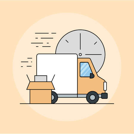 The concept of timely delivery of things by freight.