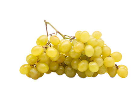 Beautiful big bunch of grapes. Isolation. Stock Photo
