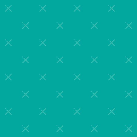 A cyan vector pattern made with x sign. Illustration