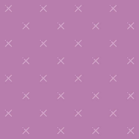 A vector pattern made with x plus sign. X texture tiled background. Trendy monochrome texture with pluses or crosses.