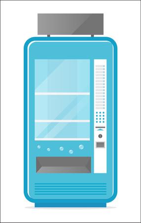 冷たい飲み物の自動販売機アイコン