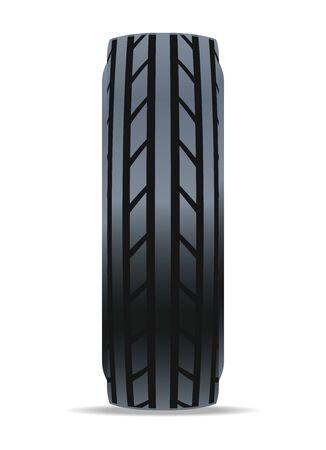 rim: Modern road car tire icon.