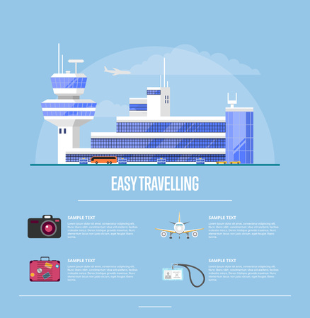 Easy traveling concept for travel agency Stock Photo