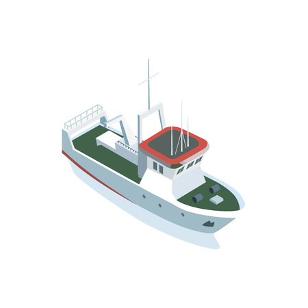 Boat image illustration 向量圖像