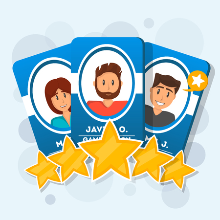 Customer review with five star rating