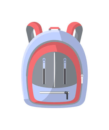 School bag isolated icon