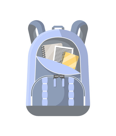 Sport rucksack isolated icon