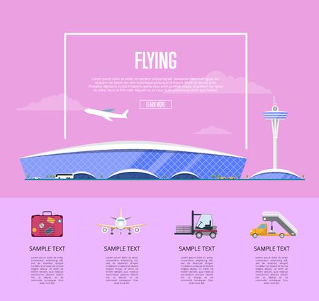 Worldwide flying concept for airline advertising 版權商用圖片
