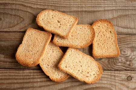 medium group of objects: Toasts integrals over rustic background