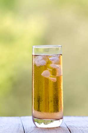 rooibos: Rooibos tea with ice Stock Photo