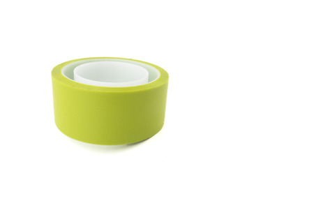 dielectric: PVC insulation tape roll color green