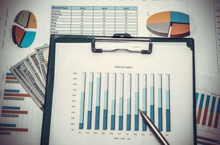 stock: Stock market graphs