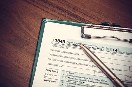 U.S. Individual income tax return. tax 1040