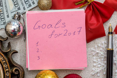 goals for new year 2017