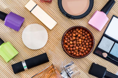 professional cosmetics tools for makeup.