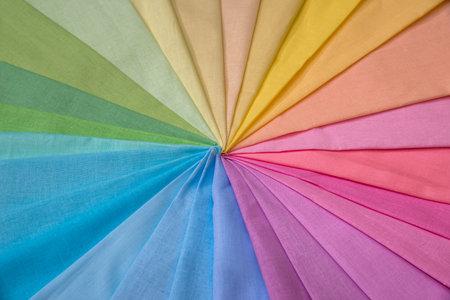 Color fabric palette