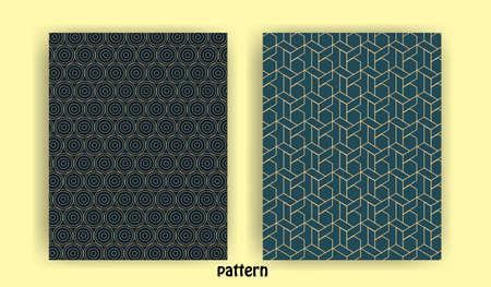 set of minimal geometric line patterns for banner background wall wallpaper banner background