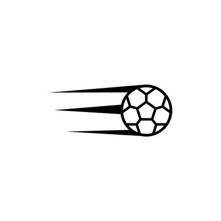 Soccer ball vector icon flat style illustration for web, mobile, logo, application and graphic design. Ball Icon Vector, Soccer ball vector icon simple sign and modern symbol.