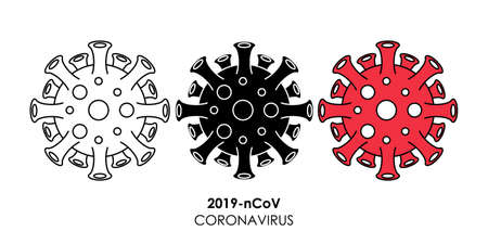 coronavirus 2019-nCoV icon vector illustration. coronavirus 2019-nCoV symptoms, treatment and prevention vector design template. coronavirus 2019-nCoV vector icon symbol for website, sign, app, UI.