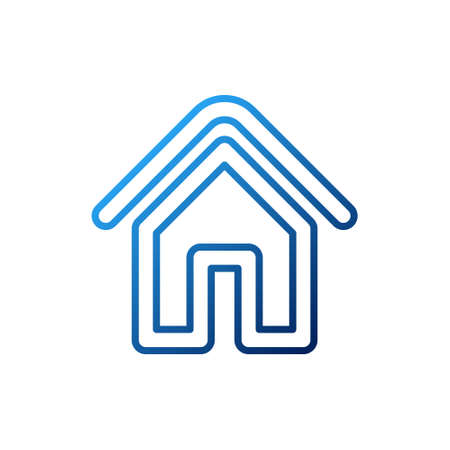 Home Logo icon vector design illustration. House logo design concept for Home, Real Estate, Building, Apartment, construction and architecture business. Modern Home design for Logo, icon, branding.
