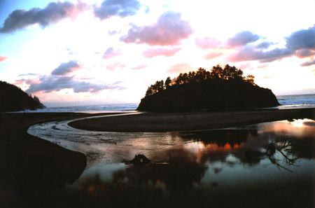 Beach Sunset Stock fotó - 3925946