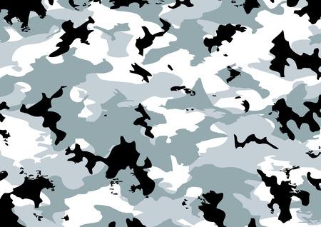 camouflage pattern: Camouflage modello in grigio, nero, bianco e colori
