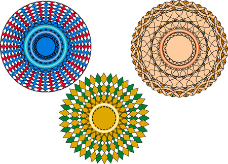 fab: Circular adornments. Easy to edit and apply