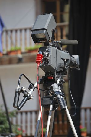 television camera ready to record the show Stock Photo - 5217781