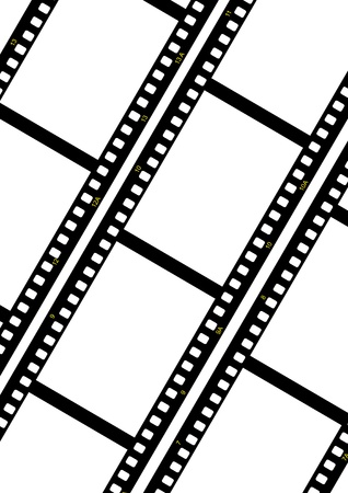 filmstrip ready to be filled with pictures. Stock Photo - 8495494