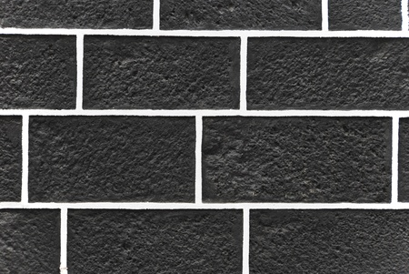 Wall made of black volcanic stones. Typical construction material in canary islands. Spain Stock Photo - 8738601