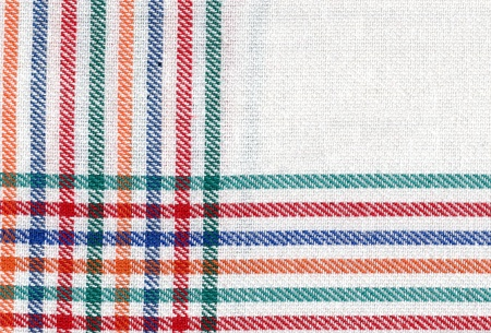 dishcloth: Close up of a cloth in white. Dishcloth. Drier.