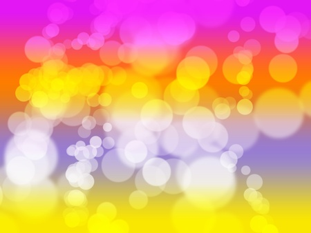 colourfull background with a rounded bokeh effect. photo