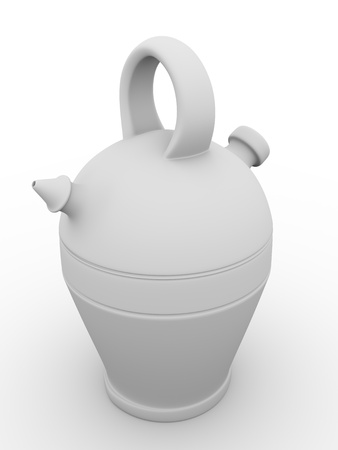souvenir traditional: Botijo. Spanish traditional drink container used to maintain fresh the water or other liquids