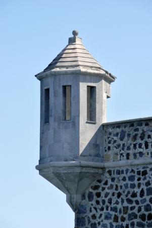 Watchtower in a fortress. Puerto de la Cruz, Tenerife, Spain Stock Photo - 16509750