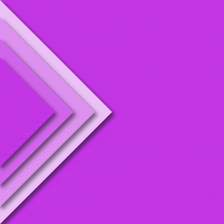 rhomb: Abstract rhomb designed in pink with shadows