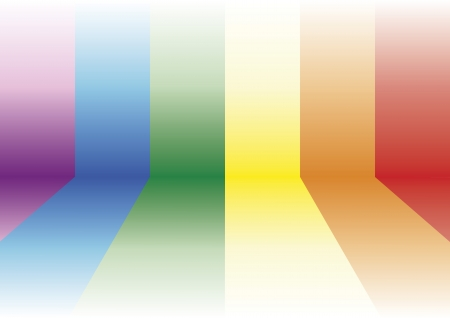 rainbow colours: Gay background. Decorative element with the gay flag  Illustration