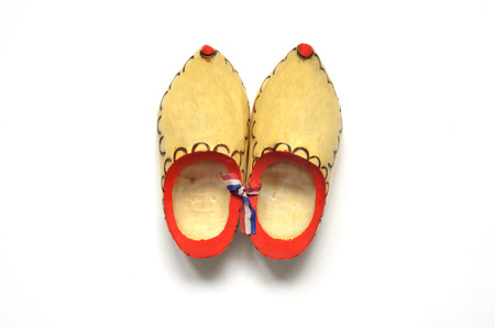 A pair of decorative clogs from holland photo