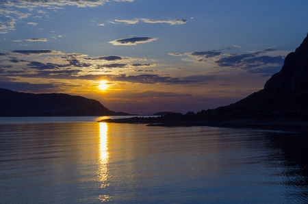 fjords: Beautiful sunset in the norwegian fjords. Good file for background and wallpaper