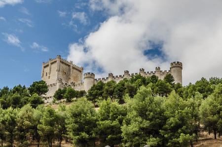 Castle of Penafiel. Valladolid, Ribera del Duero, Castilla y Leon, Spain