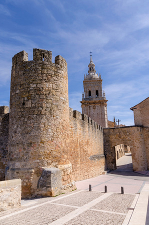 Gate in the walls. El Burgo de Osma. Soria, Castile and Leon, Spain photo